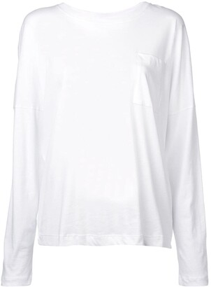 Adam Lippes chest pocket longsleeved T-shirt