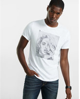 Express embroidered beauty graphic t-shirt