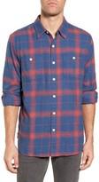 True Grit Men's Roadtrip Plaid Flannel Sport Shirt