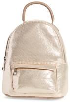 Street Level Mini Convertible Backpack - Beige