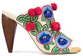 Tory Burch Ellis Embroidered Mule