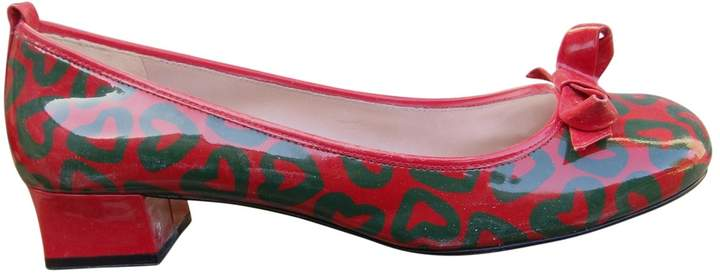 Marc by Marc Jacobs Patent Leather Court Shoes