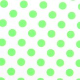 SheetWorld Fitted Oval Crib Sheet (Stokke Sleepi) - Neon Polka Dots - Made In USA - 26 inches x 47 inches (66 cm x 119.4 cm)
