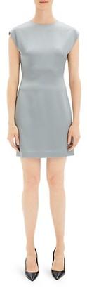 Theory Cap-Sleeve Mini Dress