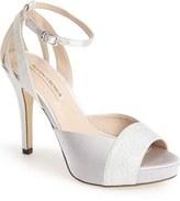 Menbur 'Arenales' Satin Ankle Strap Sandal (Women)