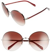 Oliver Peoples Women's Jorie 62Mm Semi Rimless Sunglasses - Gold
