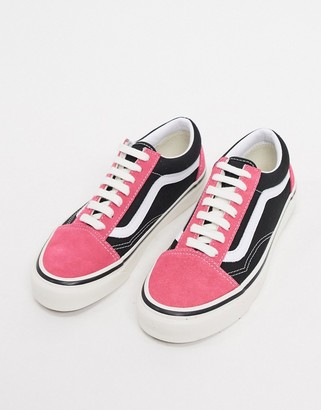Vans Anaheim Old Skool 36 DX trainers in pink/black