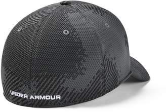 Under Armour Men's UA Printed Blitzing Stretch Fit Cap
