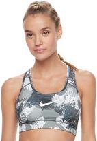 Nike Women's Victory Compression Chalk Dust Medium-Impact Sports Bra 832082