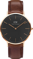 Daniel Wellington Classic Bristol rose gold watch