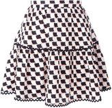 Kenzo Post-It mini skirt - women - Silk - 36
