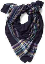 Gap Cozy oversized plaid scarf