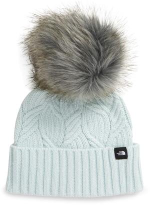 The North Face Oh-Mega Faux Fur Pompom Beanie