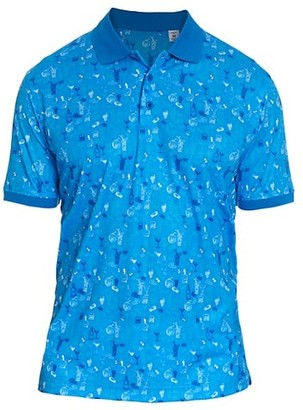 Robert Graham Eureka Printed Polo Shirt