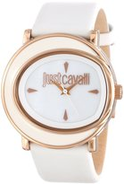 Just Cavalli Women's R7251186507 Lac Gold Ion-Plated Coated Stainless Steel Leather Watch