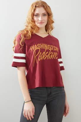 Junk Food Clothing Washington Redskins Football Tee Multi S