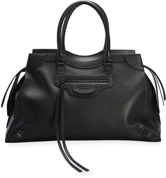 Balenciaga Neo Classic City Large Leather Satchel Bag