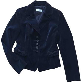 Strenesse Blue Velvet Jacket for Women
