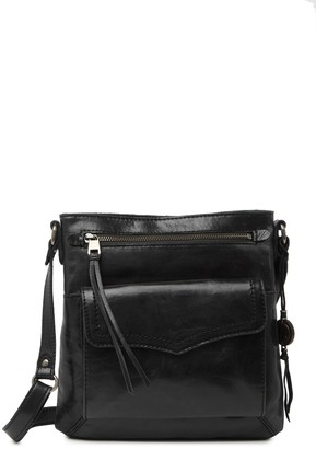 The Sak Ventura Leather Flap Crossbody Bag
