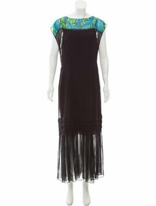Jonathan Saunders Derring Silk Dress w/ Tags Black