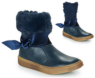 Catimini CECILINE girls's Mid Boots in Blue