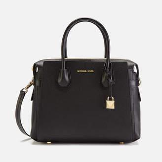 MICHAEL Michael Kors Women's Mercer Belted Medium Satchel Bag
