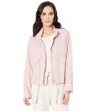Tribal Soft Touch Lyocell Loose Fit Jacket with Drawstring