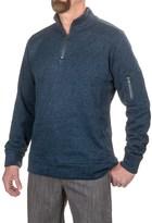 Jeremiah Lance Herringbone Fleece Shirt - Zip Neck, Long Sleeve (For Men)