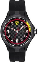 Ferrari Scuderia Gents SF101 'Pit Crew' Black Watch with Black Dial 44mm 0830005