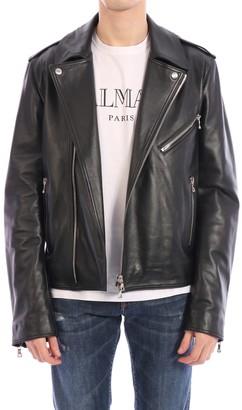 Balmain Biker Leather Jacket