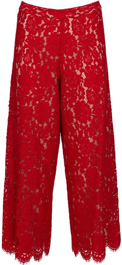 Alice + Olivia Marsha Cotton Trousers