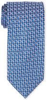 Altea Multi-Colored Herringbone Silk Tie