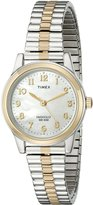 Timex Women's Classic Two-Tone Expansion Band Watch #T2M828