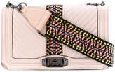 Rebecca Minkoff quilted Aztec print crossbody bag