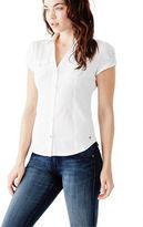 GUESS Women's Suvi Short-Sleeve Shirt