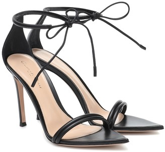 Gianvito Rossi Montecarlo leather sandals