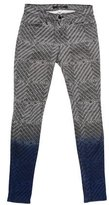J Brand Printed Skinny Jeans