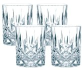 """Nachtmann Noblesse"""" Whisky Glass, Clear, Pack of 4"""