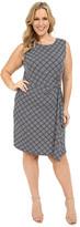 MICHAEL Michael Kors Size Loflin Logo Plate Sleeveless Dress