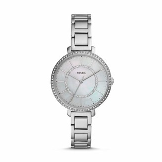 Fossil Womens Analogue Quartz Watch with Stainless Steel Strap ES4451