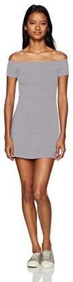 Obey Women's Hi Tide Off The Shoulder Dress