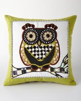 Mackenzie Childs MacKenzie-Childs Owl Pillow