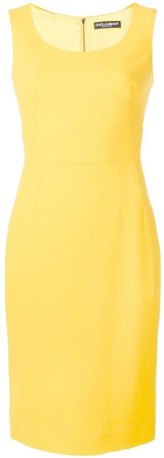 Dolce & Gabbana fitted pencil dress