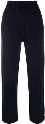 Agnona High Waisted Cashmere Trousers