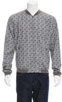 Dolce & Gabbana Reversible Printed Bomber Jacket w/ Tags