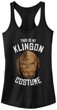 Fifth Sun Star Trek Original Series Women's Klingon Costume Halloween Racerback Tank Top