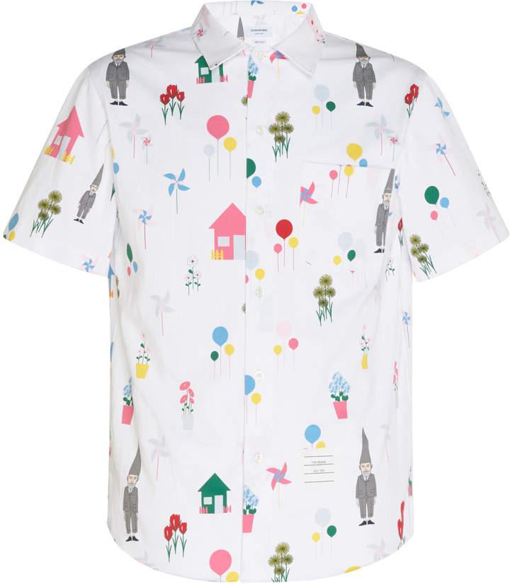 Thom Browne Casual Short Sleeve Shirt