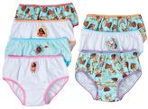 Disney Disney's Moana Pua & Moana Girls 4-8 7-pk. Bikini Panties