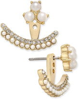 Kate Spade Dainty Sparklers Gold-Tone Imitation Pearl Earring Jackets
