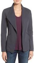 Women's Caslon Cotton Knit Open Front Blazer